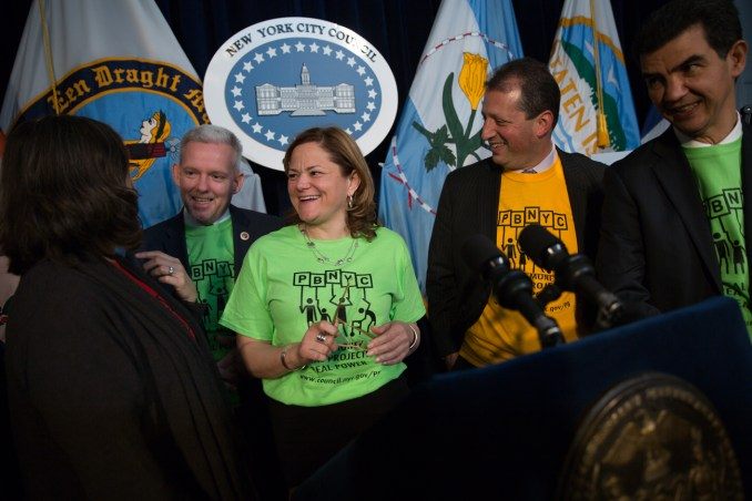 Council Speaker Melissa  Mark-Viverito Holds Press Conference to Kick-Off...