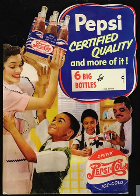 014 RPC Ron Brown and Sylvia Fitt in 1950 point of sale ad