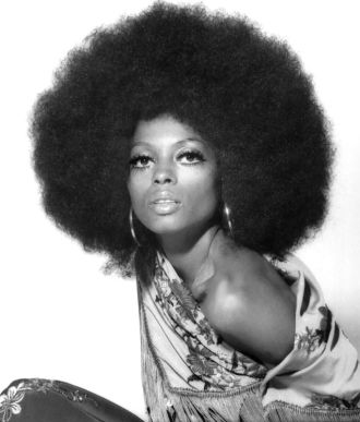 Diana Ross from Surrender album photo shoot 1971