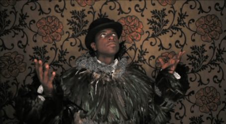 Sanford Biggers in a still from The Triptych_Credit Barron Claiborne