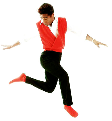 harlem's sammy davis jr dancing