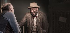 Wood and Whitaker in 'Hughie'