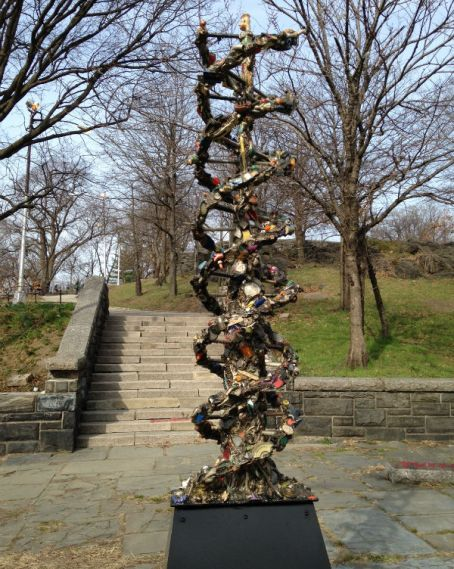 The Marcus Garvey Park Alliance Public Art Initiative is pleased to announce the installation of DNA