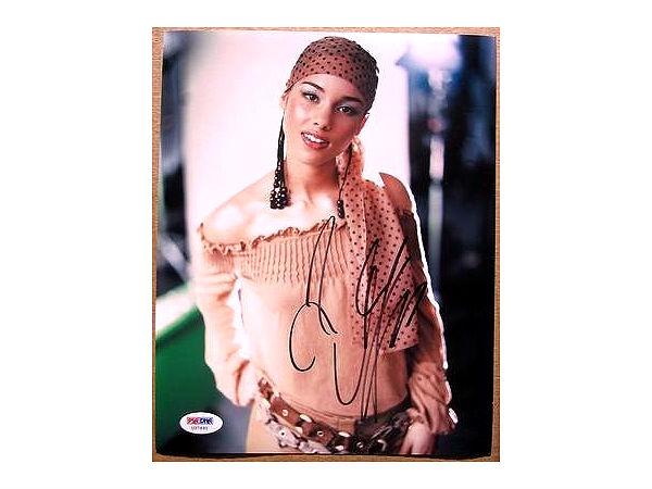 alicia keys signed photo1