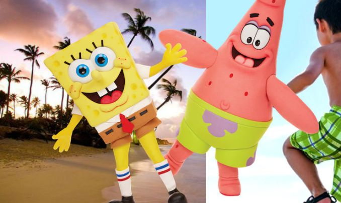 punta-cana vacation with nick from harlem1 square pants