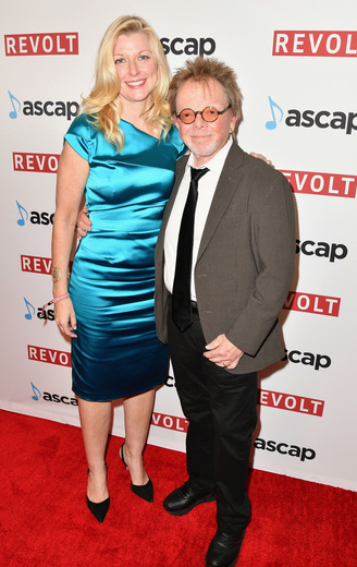 ASCAP CEO Beth Matthews (L) and ASCAP President & Chairman Paul Williams