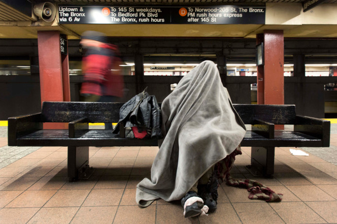 homeless in harlem