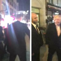 Brits Boris Johnson And David Cameron Dine At The Red Rooster In Harlem