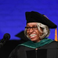 Dr. Barbara Ross-Lee Keynote At Touro College Commencement At The Apollo Theater In Harlem