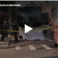 Pedestrian Killed By Tour Bus In Harlem