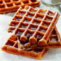 National Waffle Day: Classic Belgian Waffles