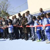 First Lady McCray, Adriano Espaillat And Others Cut Ribbon For NYC Soccer Initiative