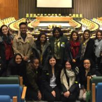 Touro Pharmacy Students From Harlem Visit United Nations