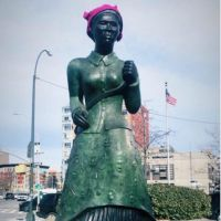 Why Someone Was Dead Wrong For Defiling Harriet Tubman Statue With A 'Pink Pussy Hat' In Harlem