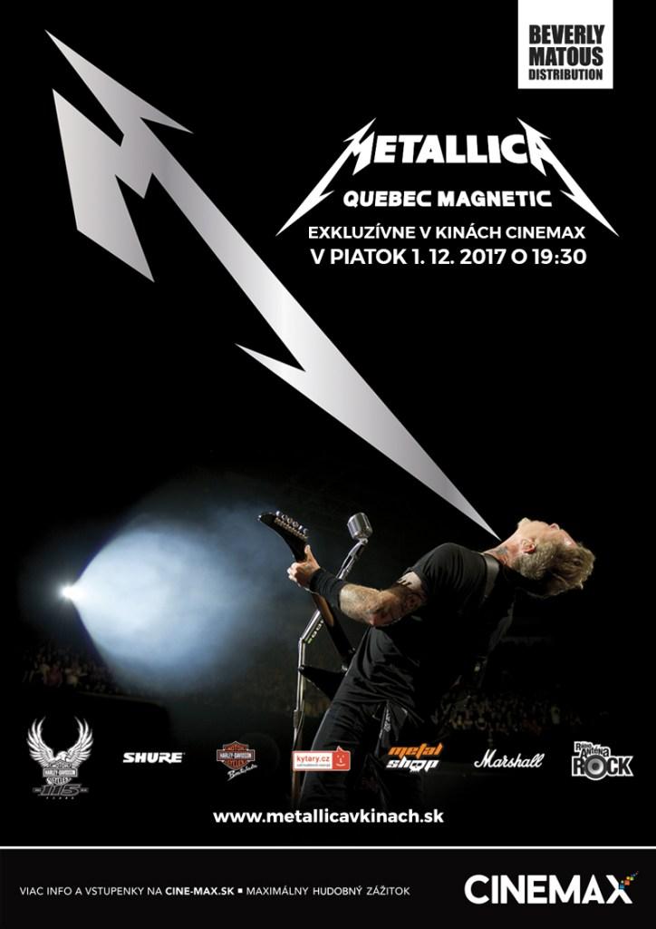Metallica koncert v kine Cinemax