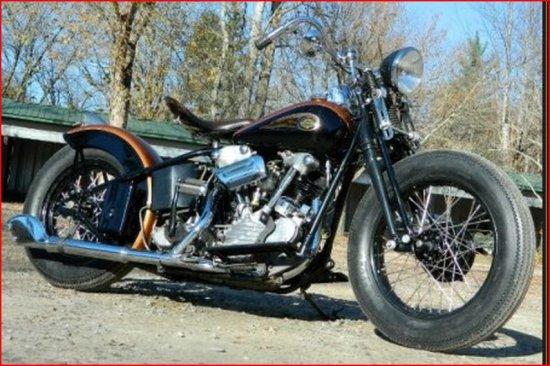 1939 Harley Davidson Knucklehead Bobber