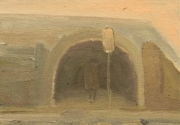 Study for The Tunnel 12.7 x 17.5 cm Oil on Board 2014