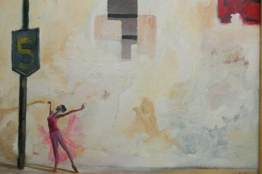 Manifold_Harley_Dance_2007_Oil_on_Canvas_35x45
