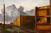 Manifold_Harley_Railway_Boy_2007_Oil_on_Linen_130x163-18