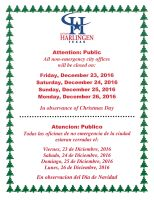 Winter Wonderland Festival @ Harlingen Public Library Auditorium