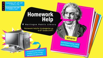 Homework Help @ Harlingen Public Library - Nonfiction Computer Lab