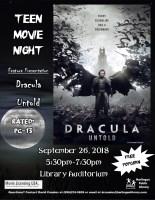 Teen Movie Night- PG-13 @ Harlingen Public Library - Auditorium