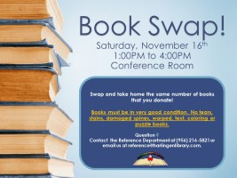 Book Swap @ Harlingen Public Library - Conference Room