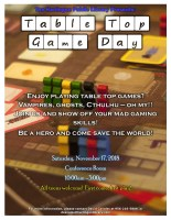 Table Top Game Day @ Harlingen Public Library - Conference