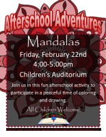 Afterschool Adventures @ Children's Auditorium