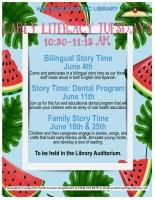 Family Story Time with Harlingen Family Dental @ Children's Auditorium