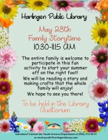 Family Story Time @ Library Auditorium