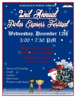 2nd Annual Polar Express Festival @ Harlingen Public Library