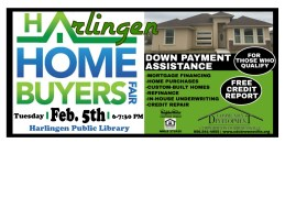 CDBC Home Buyers Fair @ Harlingen Public Library - Conference Room