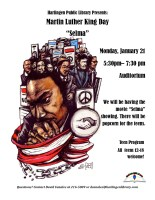 "Martin Luther King Day: ""Selma"" Movie @ Harlingen Public Library - Auditorium"