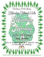 Mandala Monday @ Harlingen Public Library - Library Auditorium
