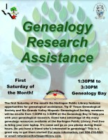 Genealogy Research & Assistance @ Harlingen Public Library
