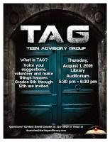 TAG General Meeting @ Harlingen Public Library - Auditorium