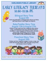 Early Literacy Tuesdays @ Harlingen Public Library