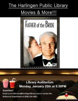 Movies & More: Father of the Bride @ Harlingen Public Library - Auditorium