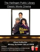 Classic Movie Cinema - The Preacher's Wife @ Harlingen Public Library - Auditorium