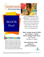 BLOCK Fest @ Harlingen Public Library Auditorium