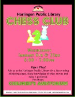 Chess Club @ Harlingen Public Library Children's Auditorium
