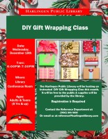 D.I.Y Gift Wrapping @ Harlingen Public Library - Conference Room