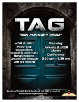 TAG General Meeting @ Harlingen Public Library - Conference