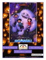 Movie Day Abominable @ Children's Auditorium