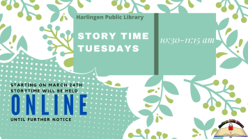 Story Time Tuesdays: Now Online!