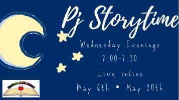 PJ Story Time @ Harlingen Public Library Facebook LIVE