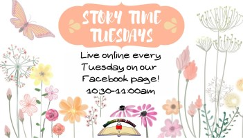 Story Time Tuesday @ Harlingen Public Library Facebook LIVE