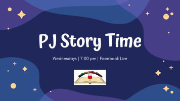 PJ Story Time @ Facebook Live
