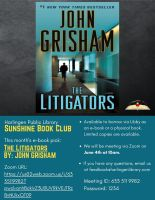 Sunshine Book Club Virtual Discussion
